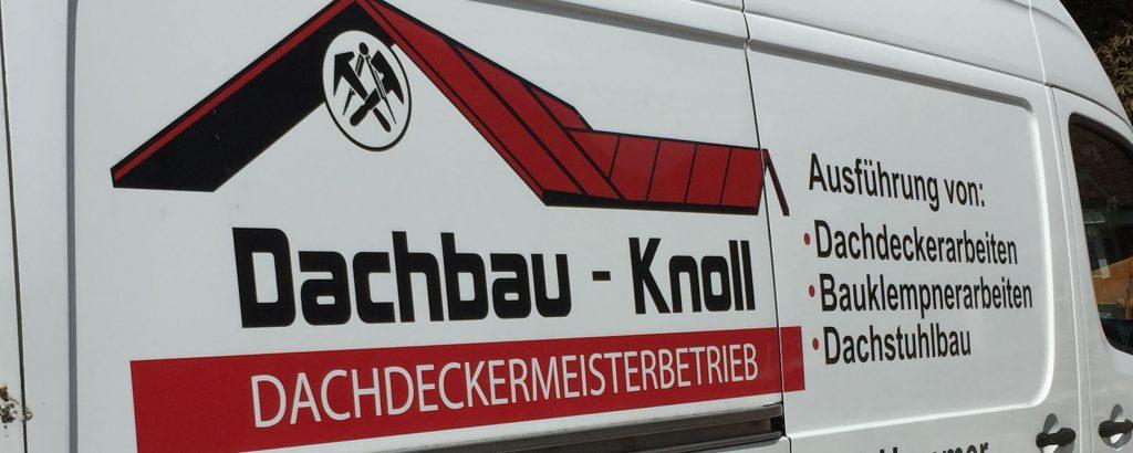 Dachbau-Knoll-Dachdecker